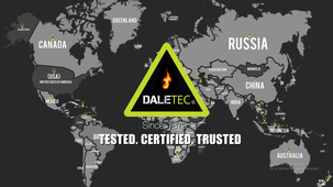 World Map and Daletec Global reach